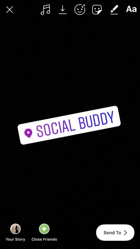 instagram story location