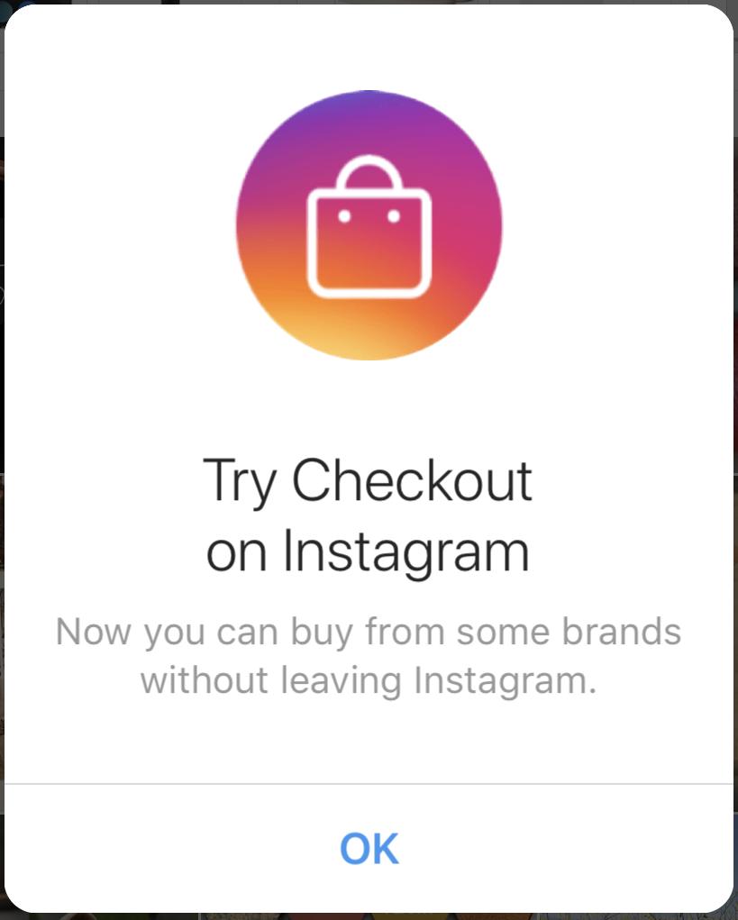 shop directly on instagram